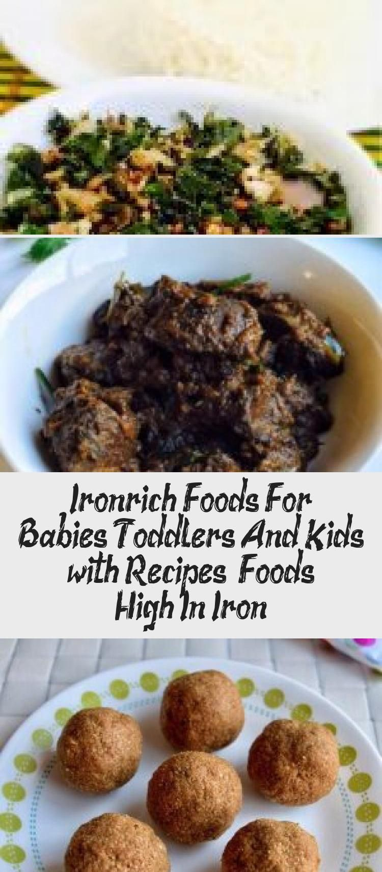 Ironrich Foods For Babies, Toddlers And Kids (with