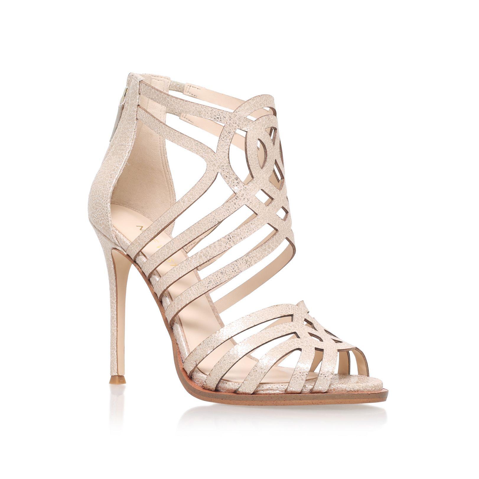 e6a65f652c3 Nine West Hartthrob high heel sandals