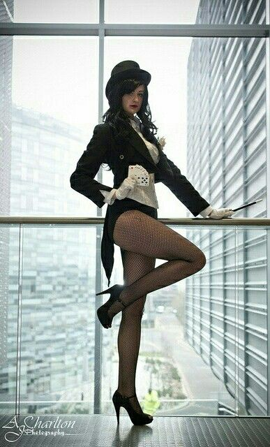 DC - Zatanna Zatara - Irene Cosplay Zatanna Zatara Cosplay