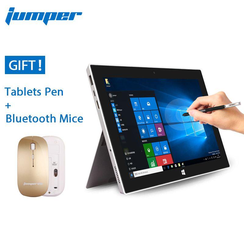 Jumper ezpad 5se 10.6 ''handwriting windows tablet pc 10 ips 1920 x1080 Intel Cherry Trail Z8300 4 GB 64 GB HDMI BT WiFi del computer portatile