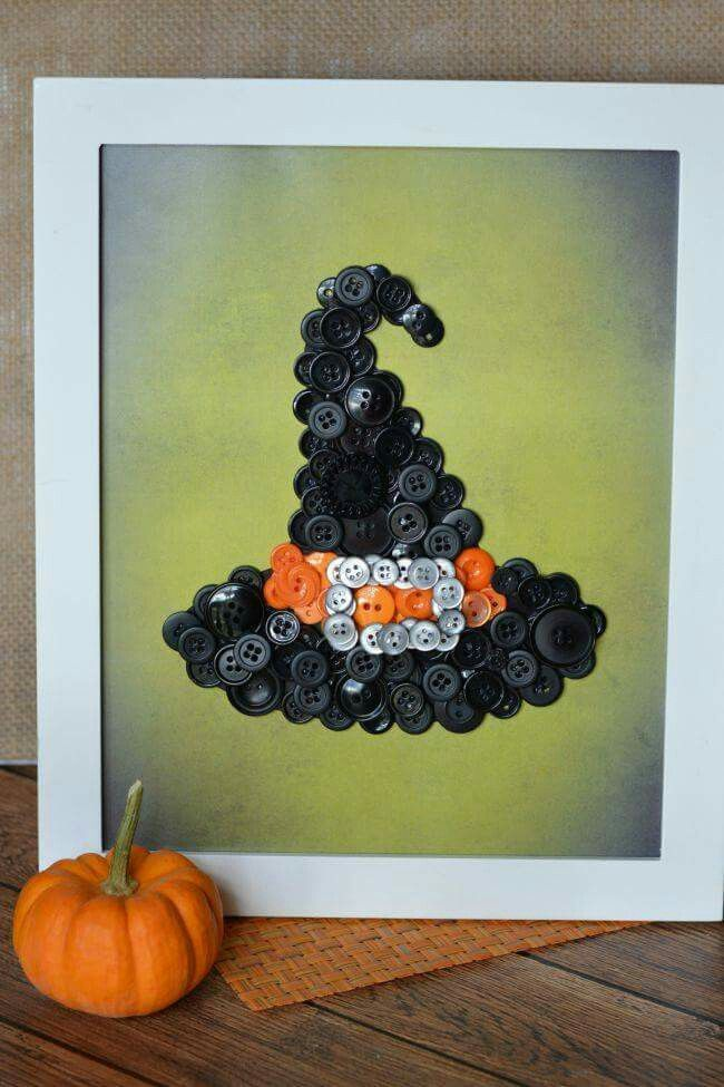 Pin by Phyllis Martin Rodes on Jewelry art Pinterest Button art - halloween arts and crafts decorations
