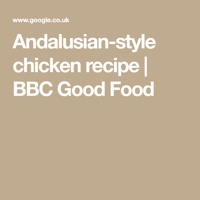 Andalusian style chicken recipe bbc good food meal planner andalusian style chicken recipe bbc good food forumfinder Choice Image