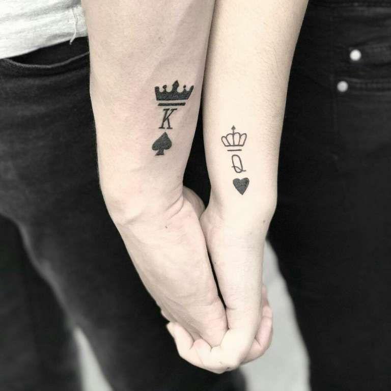17 Tatuajes hermosos para parejas