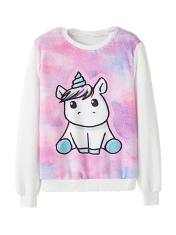 Unicorn Hoodies and Jumpers For Girls