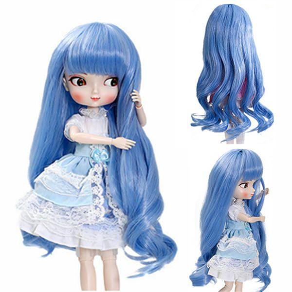 BJD Anime Girl Doll with Dress and Make Up Supplies for BBgirls DIY Custom