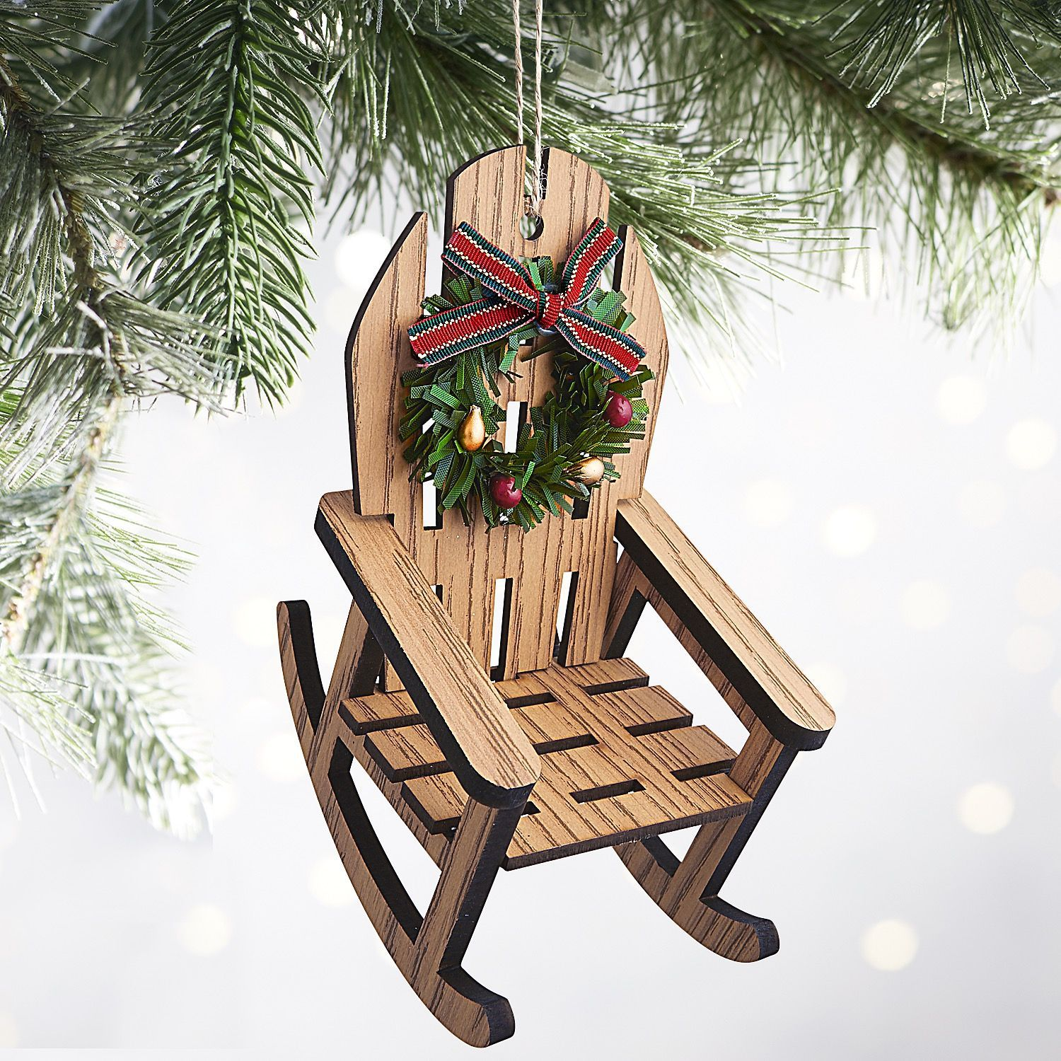 Cool Rocking Chair Ornament Christmas Ornaments Christmas Tree Machost Co Dining Chair Design Ideas Machostcouk