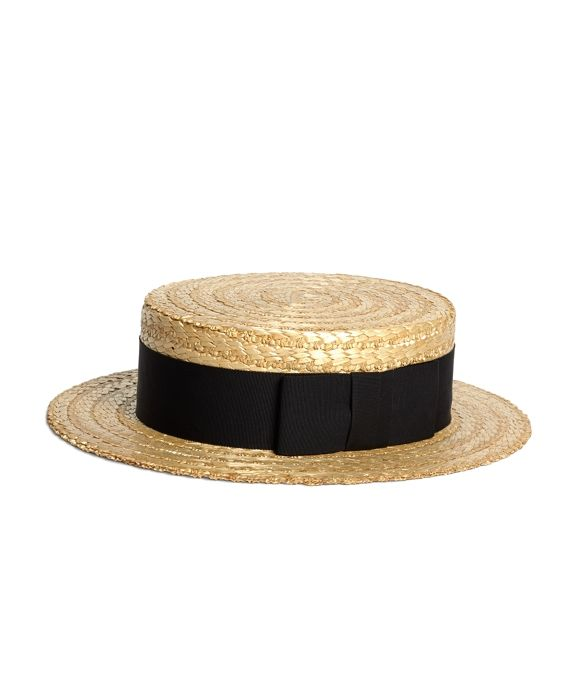 aaf6b596cc3275 Straw Boater Hat with Black Ribbon Natural. Traditional boater made since  the 1920s.