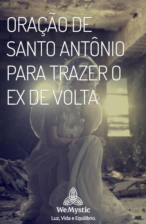 Oracao De Santo Antonio Para Trazer O Ex De Volta Oracao Salmo