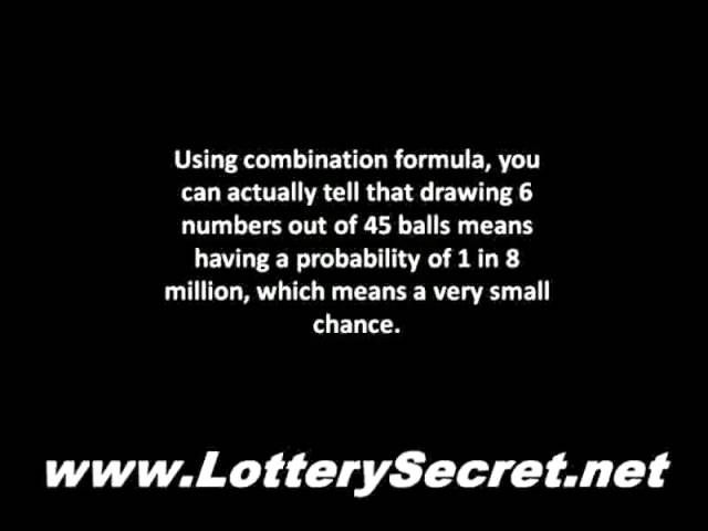 Pick Winning Lottery Numbers By Using This Secret Formula