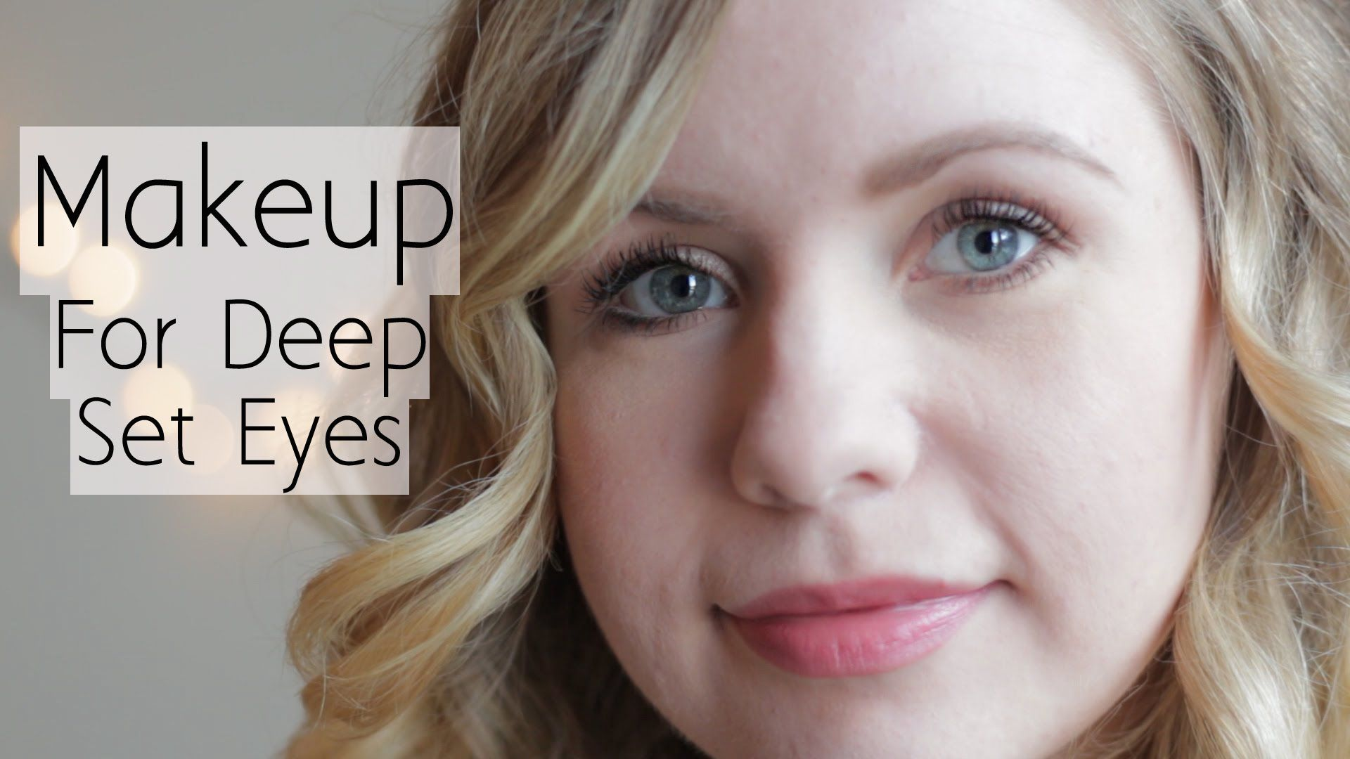 How to even out your eyelids without surgery youtube - How To Apply Makeup For Deep Set Eyes Everyday Natural Look
