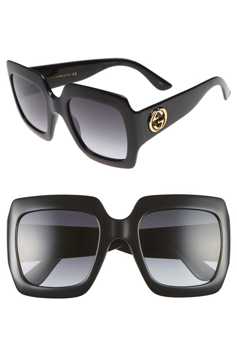 Free shipping and returns on Gucci 54mm Square Sunglasses at Nordstrom.com.  Bold, angular frames make these Italian sunglasses a standout accessory, ... 808cd82c7d