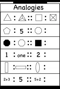 Picture Analogies 1 Worksheet 1st Grade Math Worksheets Free Printable Worksheets Mental Maths Worksheets