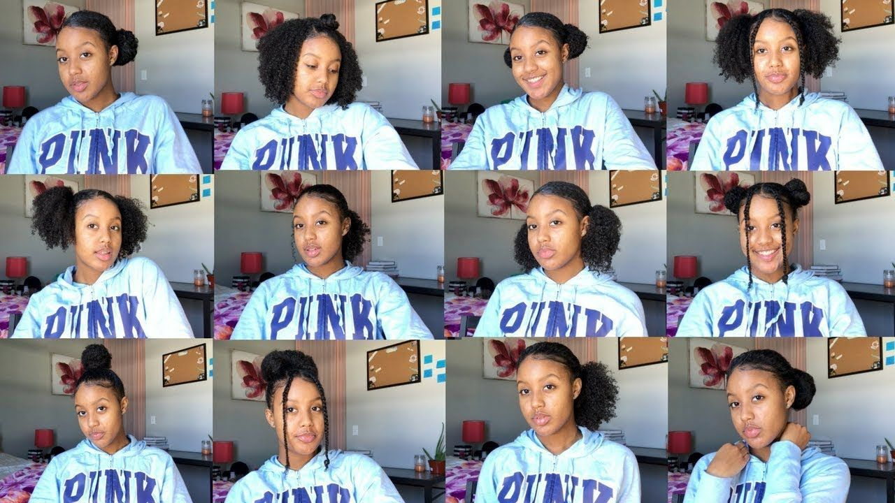 Bored with your natural hair quick u easy hairstyles for curly