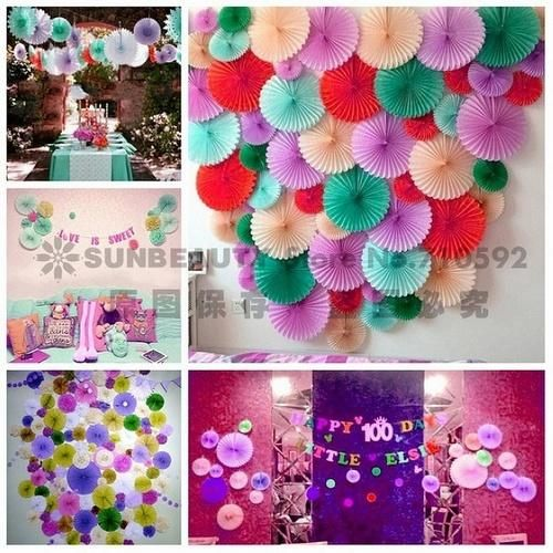 Online Cheap 9inch/23cm Honeycomb Tissue Paper Fan Pinwheels Decorative Flower Paper Crafts Party Wedding Decor Birthday Baby Shower By Ybf662 | Dhgate.Com