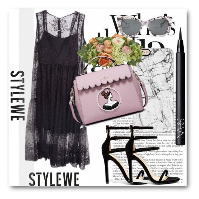 """StyleWe!"" by dianagrigoryan ❤ liked on Polyvore featuring Liliana, Casetify, NDI, Torrid and NARS Cosmetics"
