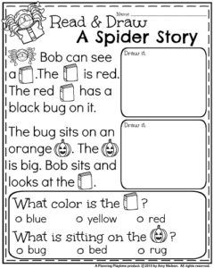 October Kindergarten Worksheets   Kindergarten worksheets, Reading ...