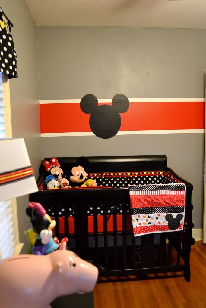 Mickey Mouse Nursery On Pinterest Disney Baby Nurseries