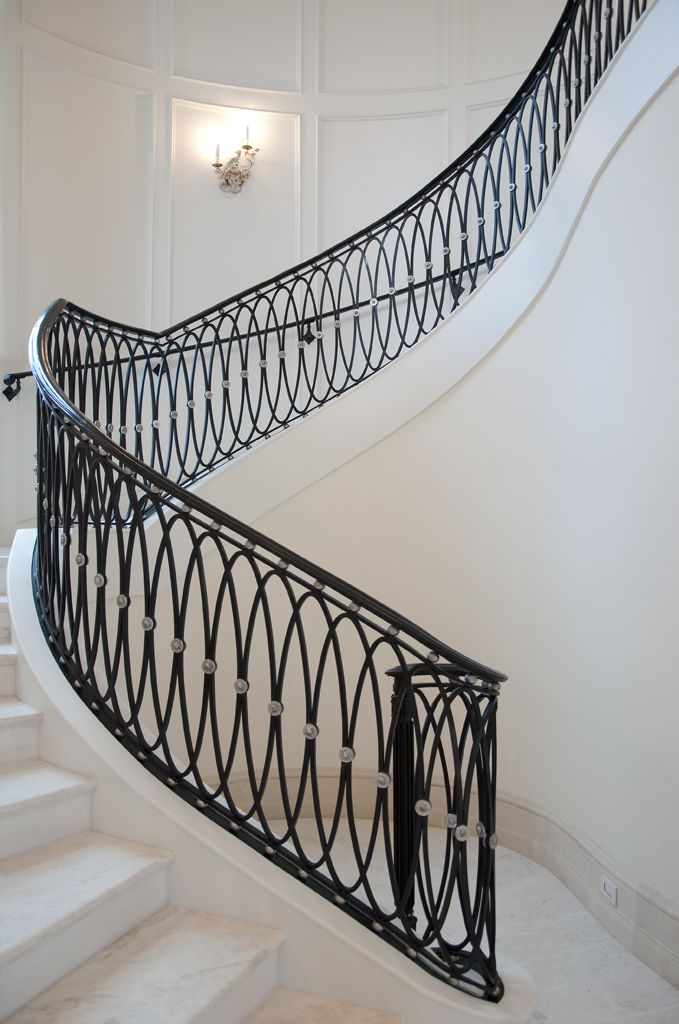 New Classical Stairs by Causa Design | Stairs | Pinterest ...