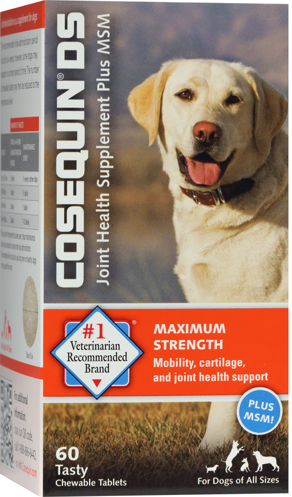 Cosequin® Joint Health Supplement for dogs is available in