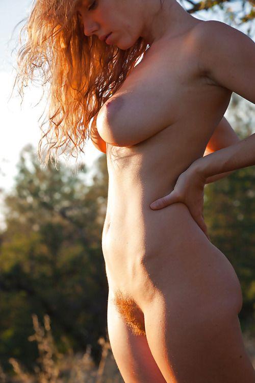 redhead bush Nude women full