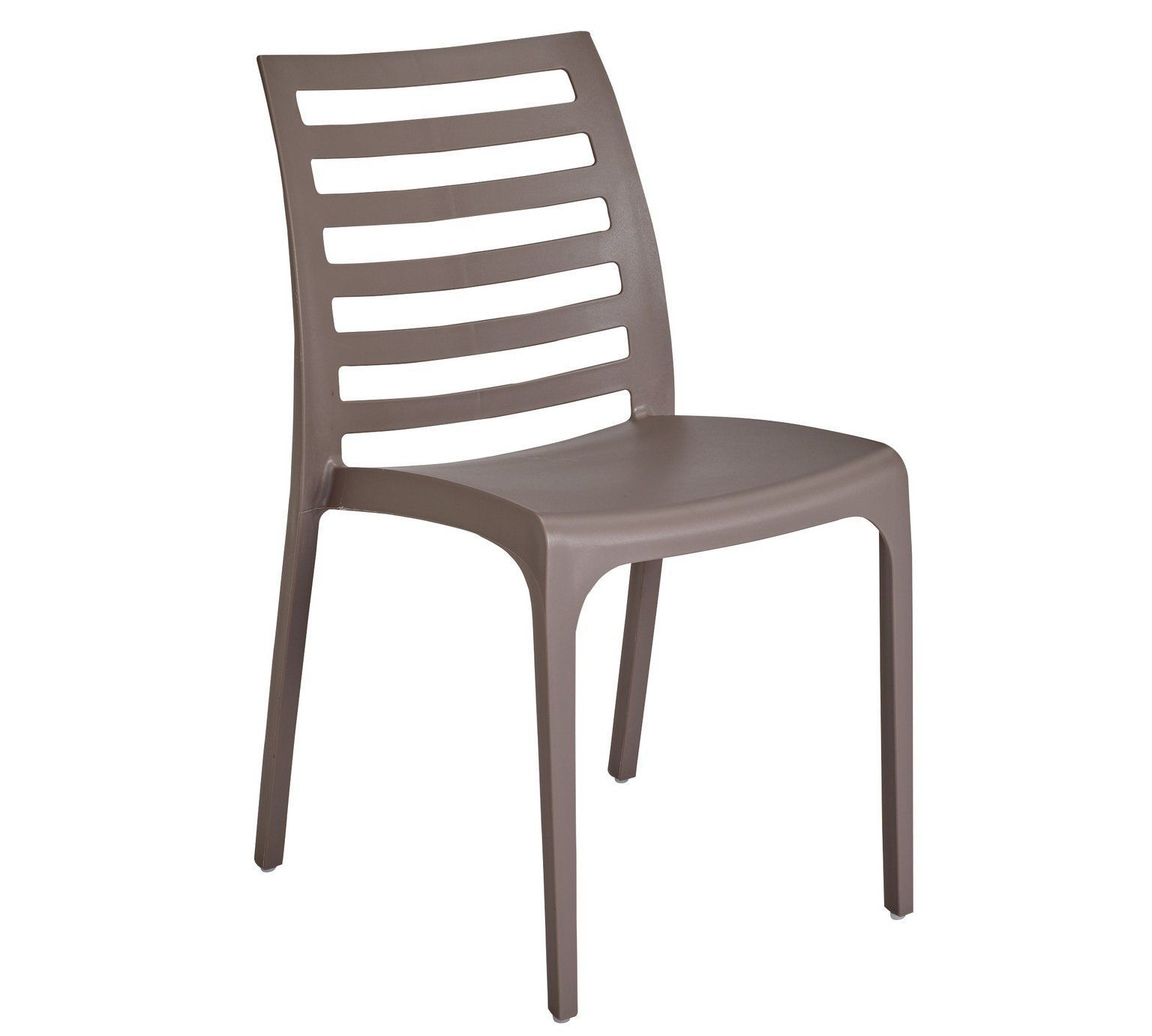 Hygena Stakk Plastic Chair Grey At Argos Co Uk Your
