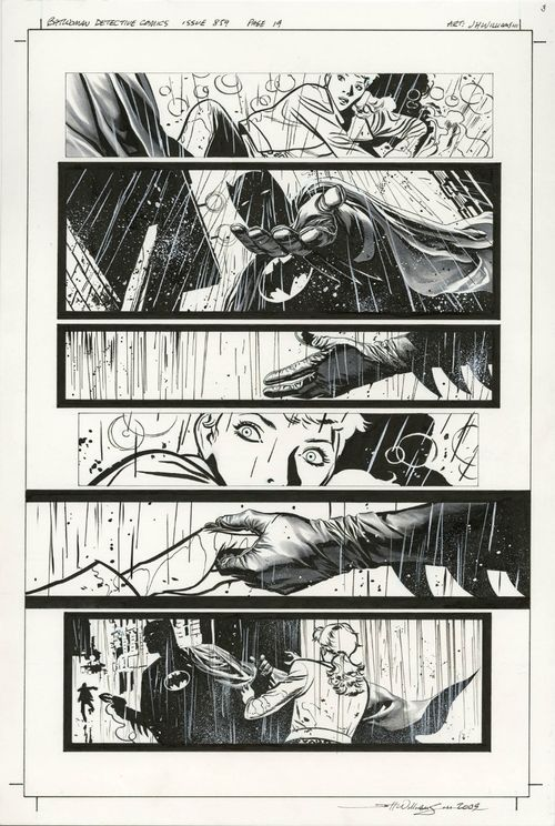 Page 19 from Detective Comics #859 by J.H. Williams III