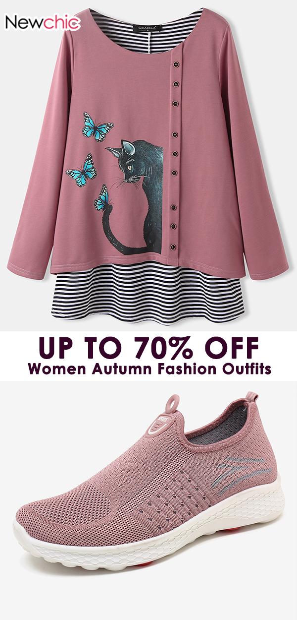 Women Autumn Chic Cloth Outfit #fashion #women