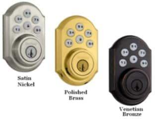 ADT Pulse Kwikset Smartcode Deadbolt Model 99100