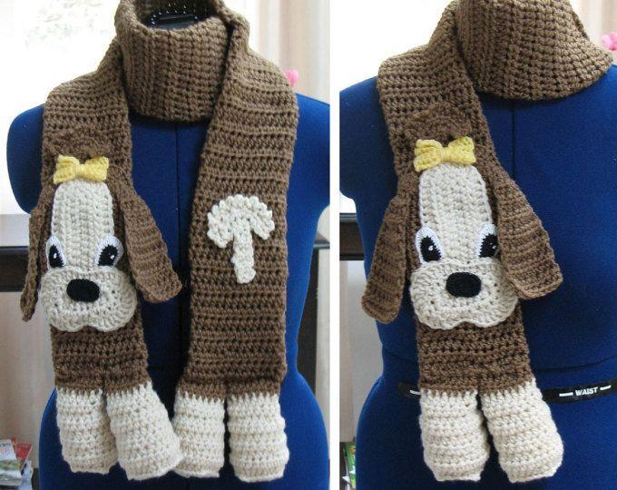 Cocker Spaniel - Scarf Crochet Pattern With Tutorials ...