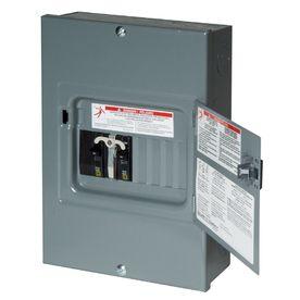 Square D�8-Circuit 8-Space 60-Amp Main Breaker Load Center
