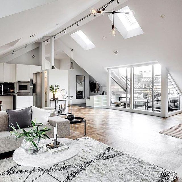 Apartment inspo via alexanderwhitesthlm styling by for Garage apartment interior