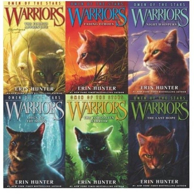How Many Warriors Books By Erin Hunter Are There: Image Result For Warriors Omen Of The Stars