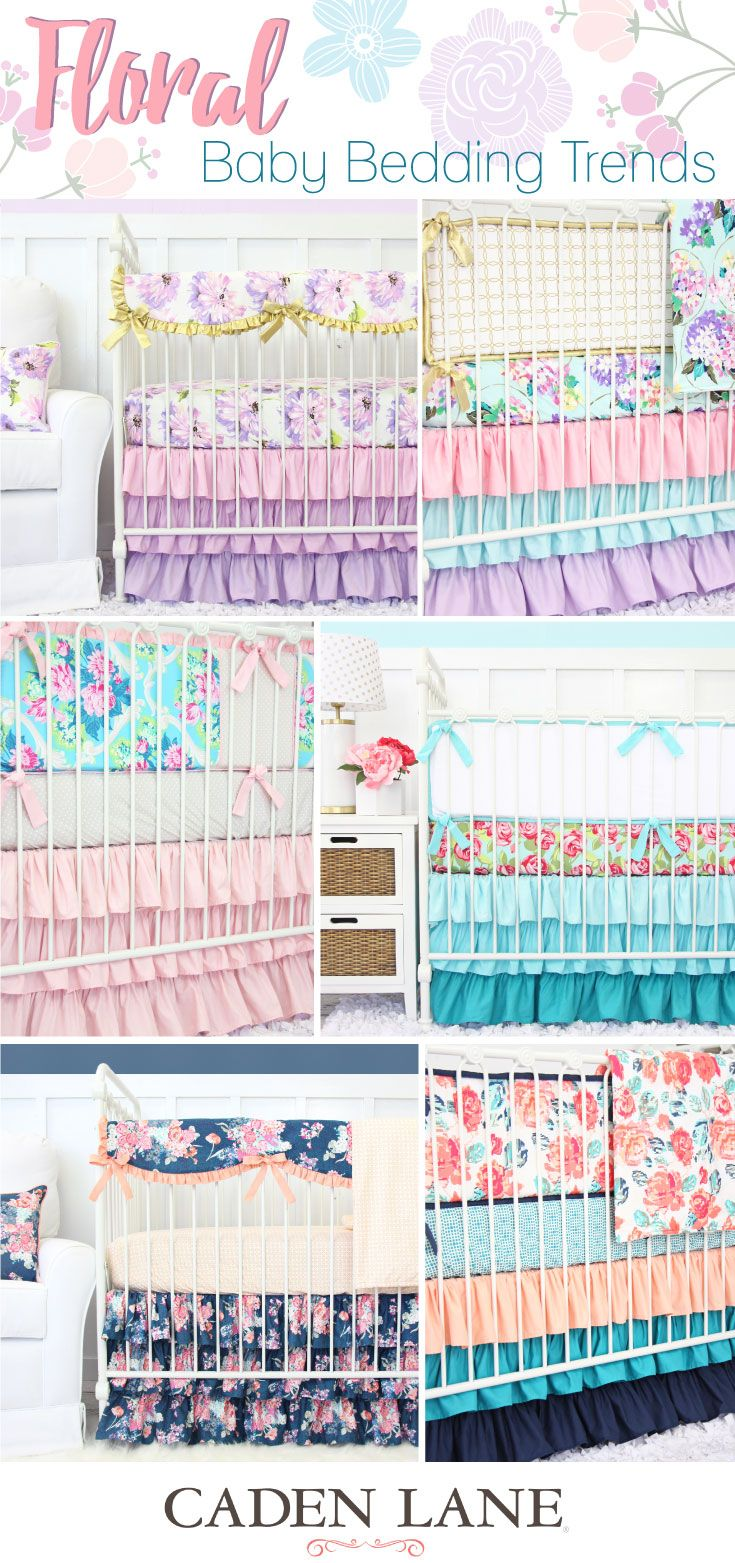 Floral Nursery Bedding Endearing Take A Look At Some Of The Most Popular Floral Crib Bedding Sets Decorating Inspiration
