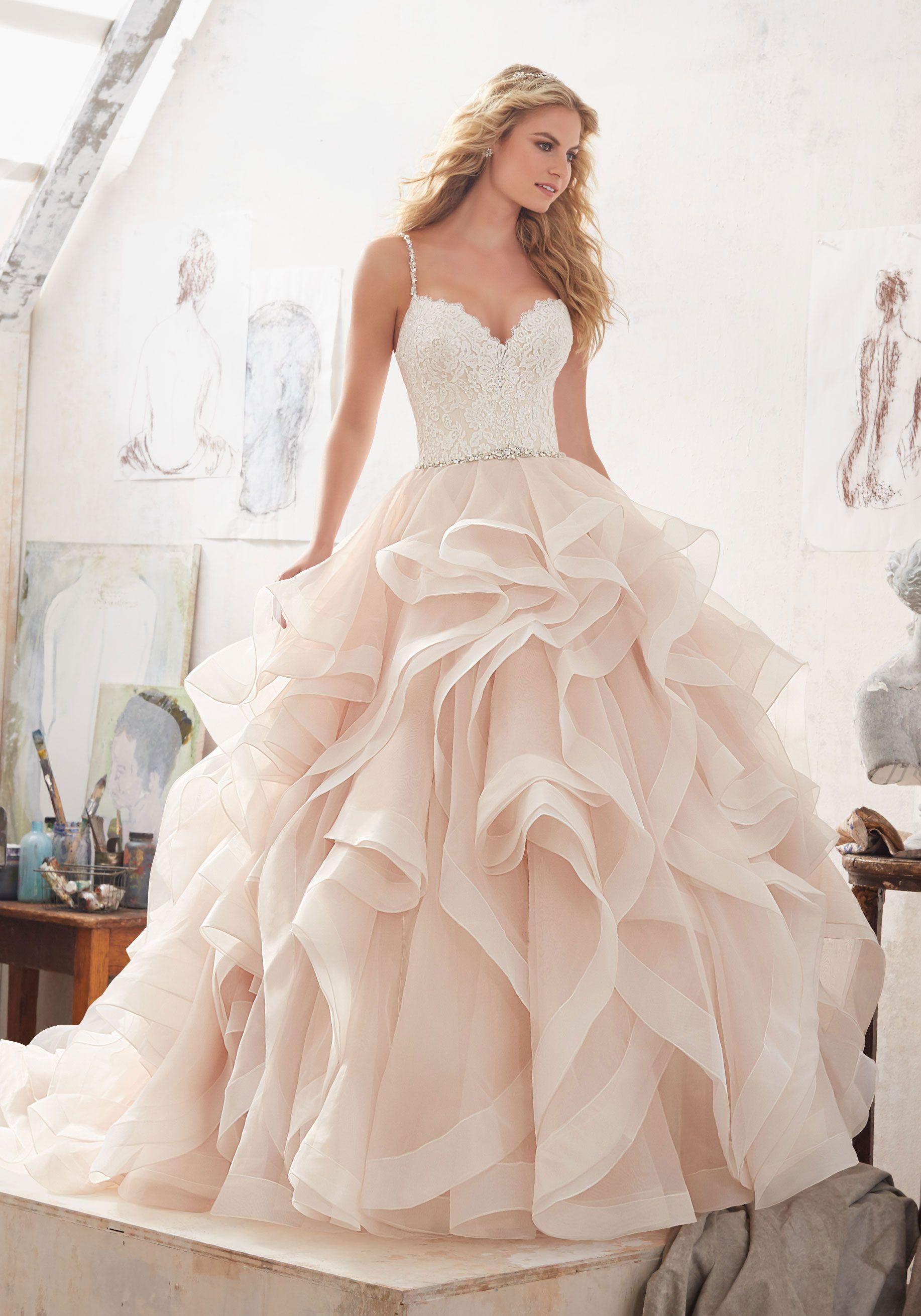 Morilee by madeline gardner 39 marilyn 39 8127 glamorous for Madeline gardner mori lee wedding dress