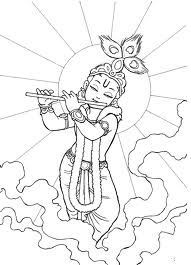 Images Of Line Drawing Krishna Google Search Krishna
