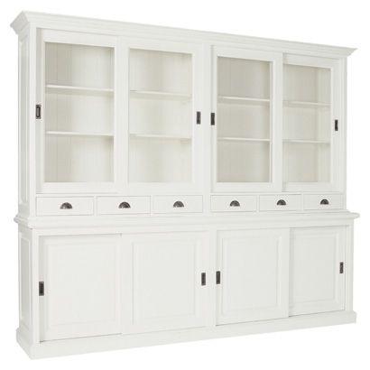 Mijn mooie witte buffetkast For the Home Pinterest Kitchens - küchenschrank mit glastüren
