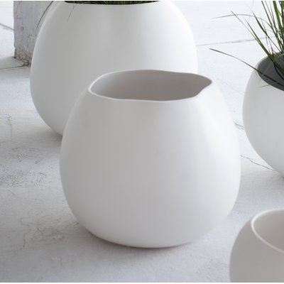 Ivy Bronx Gallman Round Ceramic Pot Planter Size 10 335 H X 12 87 W X 12 48 D Stoneware Planter Ceramic Pot Planters