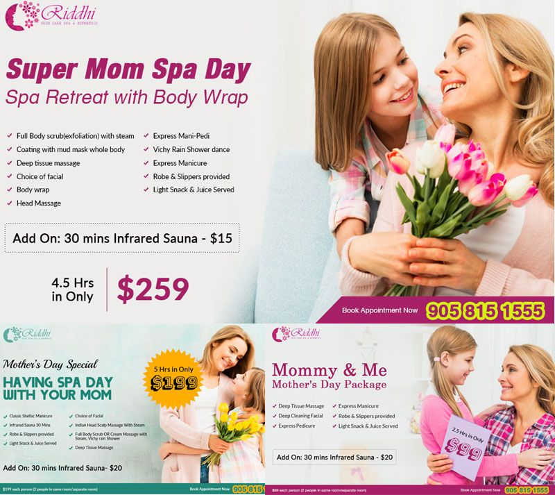 Special Spa Packages Mothers Day Spa Mothers Day Massage Day Spa Specials