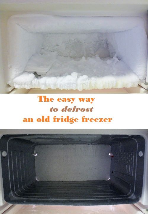 The Easiest Way To Defrost A Fridge Freezer And The Least