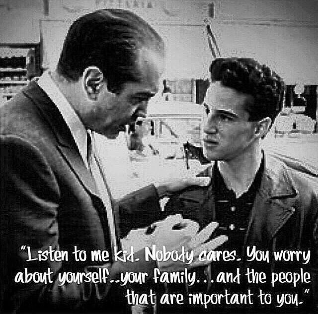 A Bronx Tale Quotes Gorgeous So Truenobody Cares I Figured That Outthey Act Like They