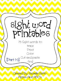 Apples and ABC's: Sight Words