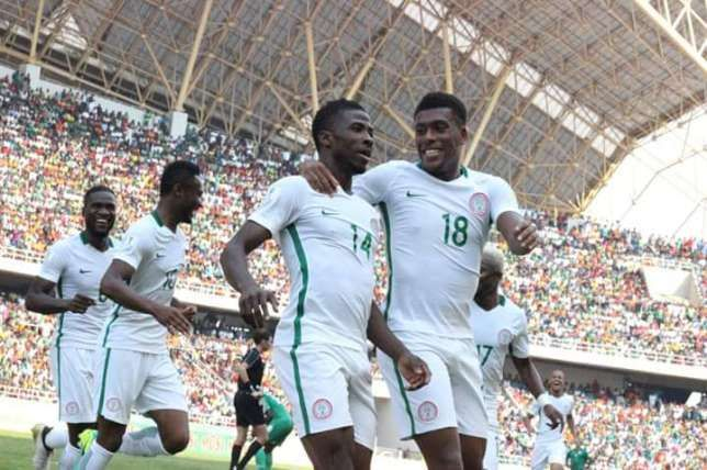 Image result for pic of super eagles squad in zambia