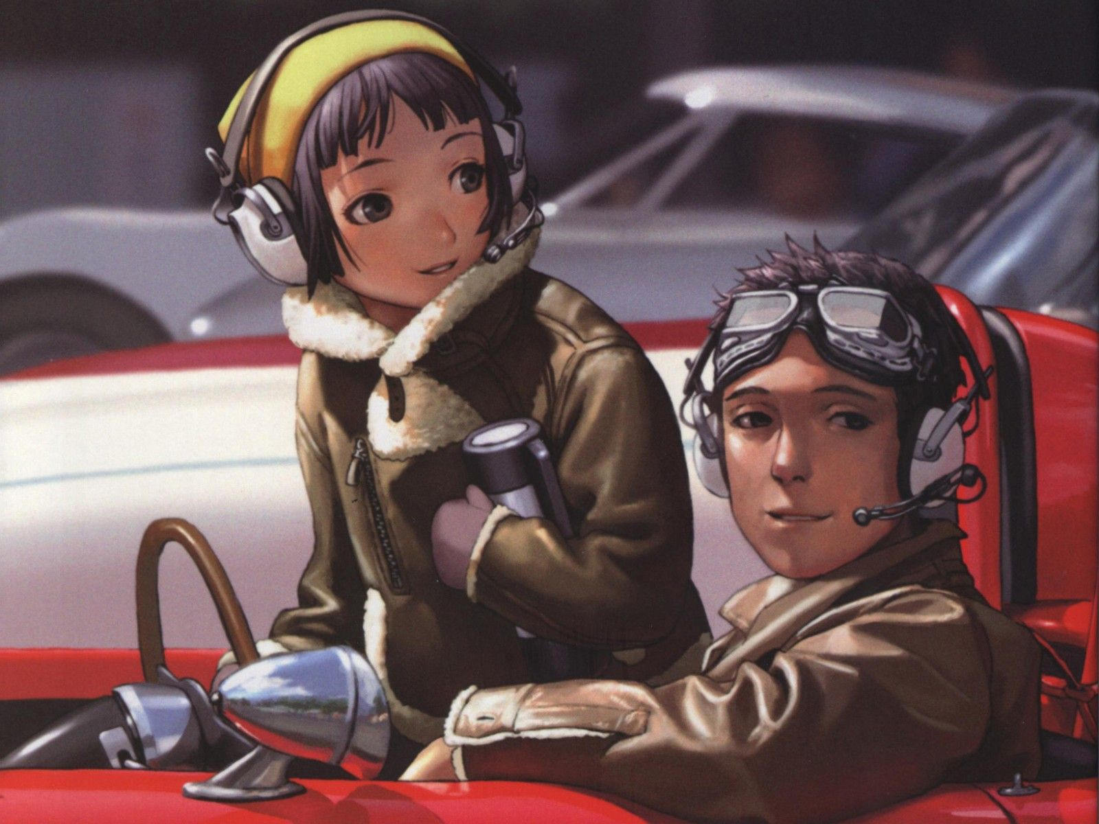 Anime last exile wallpaper range murata anime art