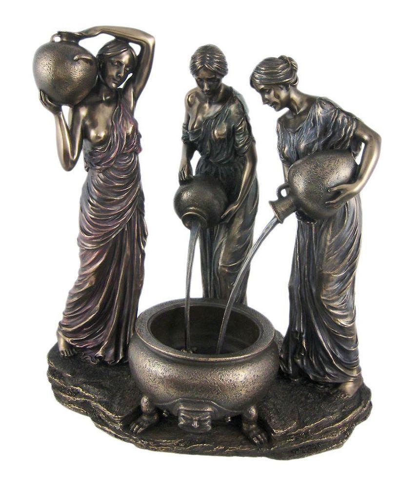 "11.75"" The Danaides Statue Sculpture Greek Mythology Figure Decor"