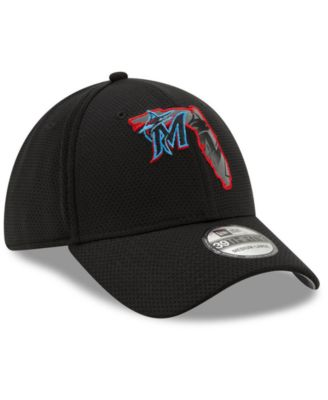 sale retailer 8f8d4 5f52b New Era Miami Marlins State Flective 2.0 39THIRTY Cap - Black S M