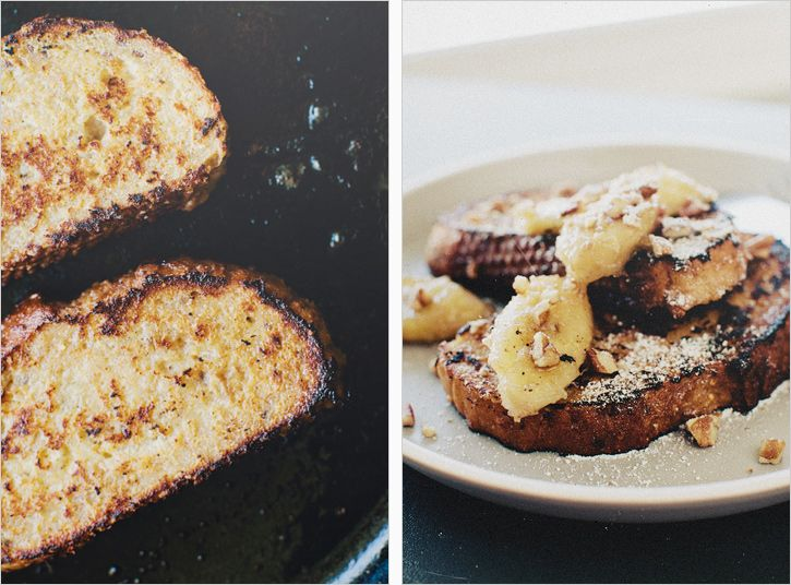 Buttermilk French Toast & Bananas by sproutedkitchen #French_Toast #Buttermilk #Bananas #sproutedkitchen