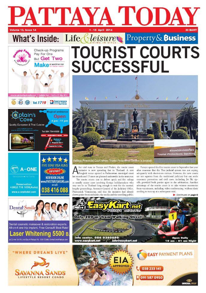 Enjoy Pattaya with PATTAYA TODAY NEWSPAPER – Your English