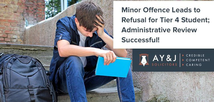 Tier 4 Student Administrative Review Successful Student