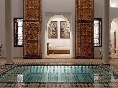 40 Amazing Moroccan riads designs - The Grey Home