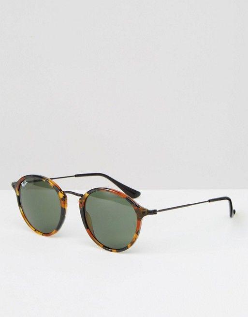 lunette de vue ray ban ronde ecaille
